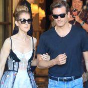 Céline Dion : Sexy en soutien-gorge et robe brodée, au bras de Pepe Munoz