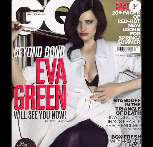 Eva Green pour GQ