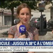 Francis Lalanne, invité surprise d'un reportage BFMTV sur la canicule !
