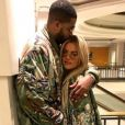 Photo de Khloé Kardashian et Tristan Thompson. Décembre 2016.