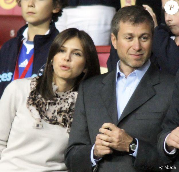 Roman Abramovich et Dasha Zhukova à Moscou le 21 mai 2008.