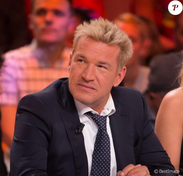 """Exclusif - Benjamin Castaldi lors de la 1000ème de l'émission """"Touche pas à mon poste"""" (TPMP) en prime time sur C8 à Boulogne-Billancourt le 27 avril 2017."""