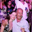 Fawaz Gruosi et sa compagne Sophie Taylor le 8 août 2017 lors de la soirée du 65e anniversaire du fondateur de la marque de joaillerie De Grisogono, sur le thème Time to Shine à l'hôtel Cala di Volpe à Porto Cervo, en Sardaigne. © Dominique Jacovides/Bestimage