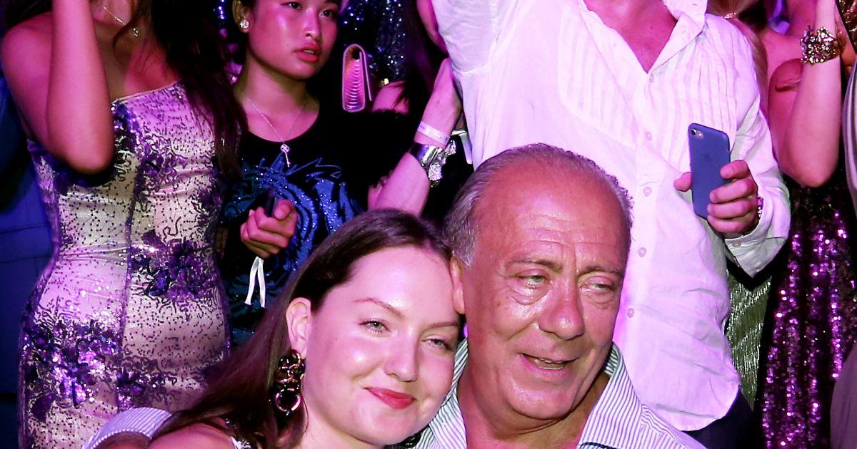 Fawaz gruosi et sa compagne sophie taylor le 8 ao t 2017 lors de la soir e du 65e anniversaire - Sophie jovillard et sa compagne ...