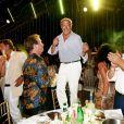 Fawaz Gruosi - Fawaz Gruosi fête ses 65ans à l'hôtel Cala di Volpe à Porto-Cervo, Sardaigne, Italie, le 8 août 2017. © Dominique Jacovides/Bestimage  Fawaz Gruosi celebrates his 65th birthday at Cala di Volpe hotel in Porto-Cervo, Sardinia, Italy, on August 8, 2017.08/08/2017 - Porto-Cervo