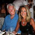 Gilbert et Nicole Coullier le 8 août 2017 lors de la soirée du 65e anniversaire de Fawaz Gruosi, fondateur de la marque de joaillerie De Grisogono, sur le thème Time to Shine à l'hôtel Cala di Volpe à Porto Cervo, en Sardaigne. © Dominique Jacovides/Bestimage