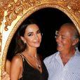 Fawaz Gruosi lors d'une séance de photos souvenirs le 8 août 2017 lors de la soirée de son 65e anniversaire sur le thème Time to Shine à l'hôtel Cala di Volpe à Porto Cervo, en Sardaigne. © Dominique Jacovides/Bestimage