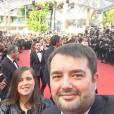 Jean-François Piège à Cannes pour le Festival du film international. Mai 2016.