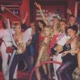 Photo de Cara Delevingne et ses amies en vacances au Mexique. Août 2017.