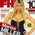 Marisa Miller en couverture du magazine FHM avec Madeline Zima