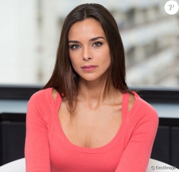 Exclusif - Rendez-vous avec Marine Lorphelin (Miss France 2013) dans les locaux de Webedia pour une Interview pour Purepeople à Levallois-Perret le 8 février 2017.