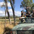 """Nabilla et Thomas Vergara en plein road trip dans leur nouvelle télé-réalité baptisée """"Les incroyables aventures de Nabilla et Thomas en Australie"""" sur NRJ12."""