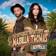 """""""Nabilla et Thomas Vergara, stars d'une nouvelle télé-réalité baptisée """"Les incroyables aventures de Nabilla et Thomas en Australie"""" sur NRJ12."""""""