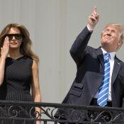 Donald Trump sans lunettes pour l'éclipse... Nouvelle bourde qui fait le buzz !