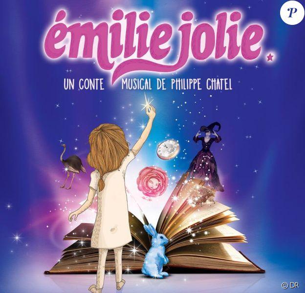 """""""Emilie Jolie"""", un conte musical de Philippe Chatel à partir du 21 octobre 2017 au Comedia à Paris."""