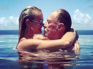 Johnny Hallyday nage dans le bonheur à Saint-Barth', avec ses trois femmes