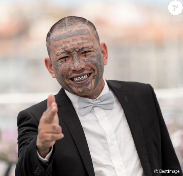 """Panya Yimumphai lors du photocall du film """"A Prayer Before Dawn"""" lors du 70e Festival International du Film de Cannes le 19 mai 2017 © Borde-Jacovides-Moreau/Bestimage"""