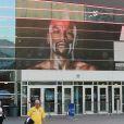 Le T-Mobile Arena où a eu lieu le match de boxe entre Conor McGregor et Floyd Mayweather à Las Vegas le 26 août 2017.