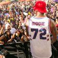 Sean 'Diddy' Combs animant une pool party au Hard Rock Hotel & Casino à Las Vegas le 26 août 2017 avant le combat entre Conor McGregor et Floyd Mayweather.