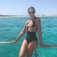 Marion Lefebvre, ex-candidate de Top Chef qui a ouvert à Aix-en-Provence la Bottega da Verri avec son compagnon Xavier Verri, a fait profiter de ses vacances dans les Baléares à ses abonnés Instagram, comme avec cette photo du 18 août 2017, fêtant son arrivée à Formentera avec un maillot... qui se passe de commentaires.