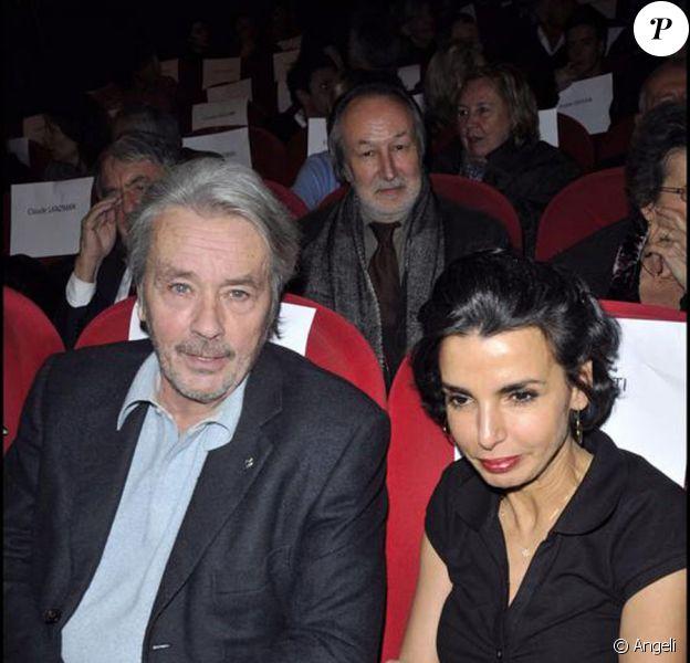 Rachida Dati et Alain Delon réunis pour BHL début février, puis au mariage d'Olivier Dassault