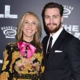"Sam Taylor-Johnson et son mari Aaron Taylor-Johnson à la première de ""The Wall World"" à New York, le 27 avril 2017. © CPA/Bestimage"