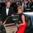 La princesse Diana arrivant au Royal Albert Hall à Londres en mai 1995.