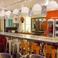 """La cuisine du Campus des Secrets de """"Secret Story 11"""" (NT1), devenue un réfectoire à l'image de grandes universités américaines."""