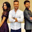"""Christophe Beaugrand, Leila Ben Khalifa et Julien Geloën seront tous les trois dans le """"Débrief"""" de Secret Story 11."""