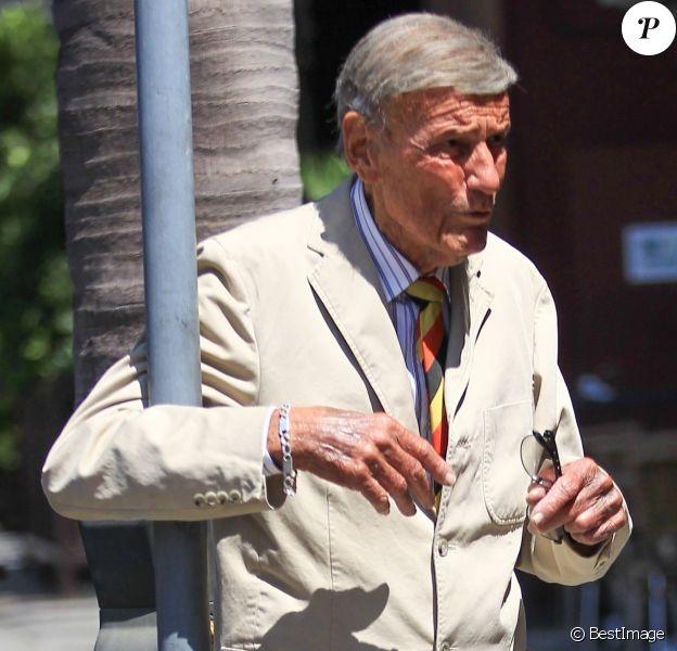 Richard Anderson à la sortie d'un centre médical à Beverly Hills, le 4 aout 2016