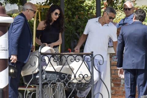 Amal et George Clooney : Confessions inédites et rare sortie avec les bébés