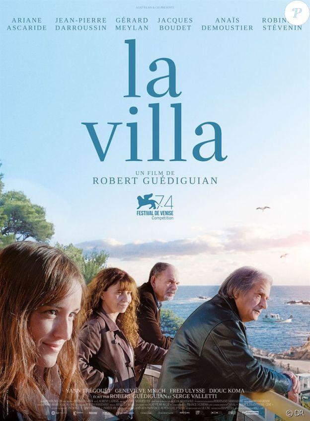 Affiche du film La Villa en salles le 29 novembre 2017