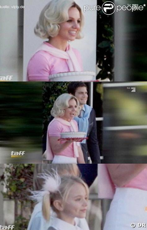 Britney Spears dans son nouveau clip If You Seek Amy