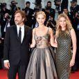 """Jennifer Lawrence, Michelle Pfeiffer et Javier Bardem à la première de """"Mother !""""à la 74ème édition de la Mostra de Venise, le 5 septembre 2017."""