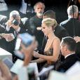 """Jennifer Lawrence et Darren Aronofsky à la première de """"Mother !""""à la 74ème édition de la Mostra de Venise, le 5 septembre 2017."""