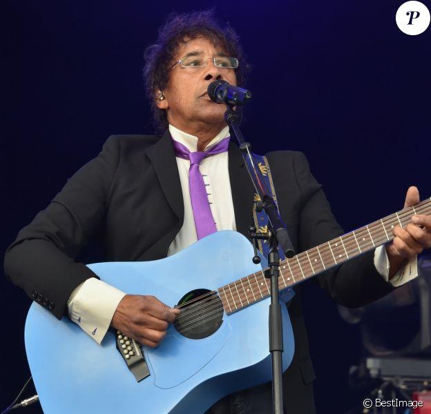 Concert de clôture avec Laurent Voulzy - Fête de l'Humanité à la Courneuve le 10 septembre 2016. © Lionel Urman / Bestimage - La Courneuve