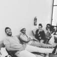 Pauline Ducruet à New York avec ses amis, dont Maxime Giaccardi au premier plan, en septembre 2017, photo Instagram.