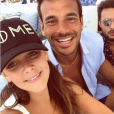 Pauline Ducruet au Bagatelle Beach à Saint-Tropez avec son ami Maxime Giaccardi en août 2017, photo Instagram.