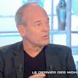 """Jean-Pierre Pernaut dans """"Salut les Terriens !"""" sur C8. Le 9 septembre 2017. Laurent Baffie a eu un petit accrochage avec le journaliste."""