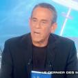 """Thierry Ardisson dans """"Salut les Terriens !"""" sur C8. Le 9 septembre 2017."""