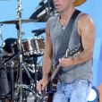 Kenny Chesney lors du Good Morning America (GMA) Summer Concert Series à Central Park, New York City, le 8 juillet 2016.