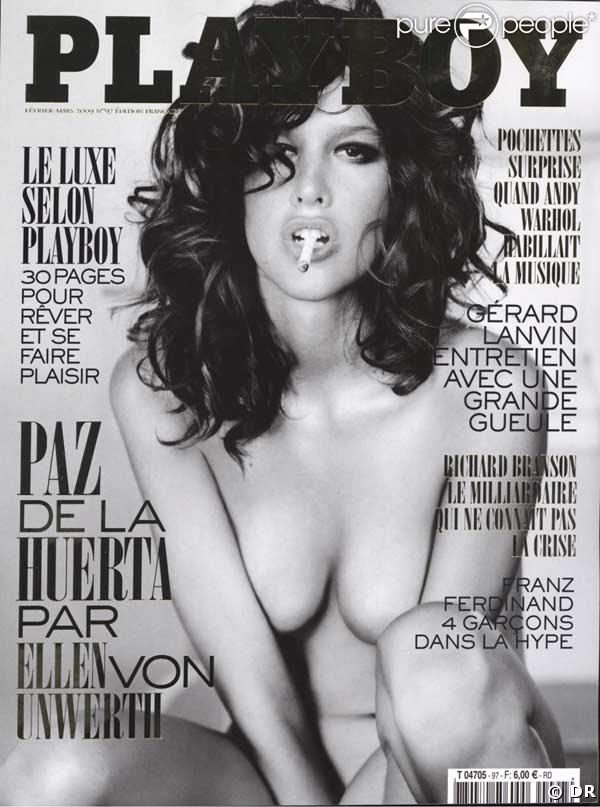 dangling, Playboy (France), Feb. '09, cover, 75k