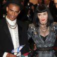 "Madonna et Brahim Zaibat - Soiree ""'Punk: Chaos to Couture' Costume Institute Benefit Met Gala"" à New York le 6 mai 2013."