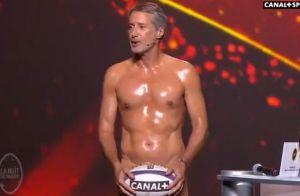 Antoine de Caunes nu (et canon !) pour la nuit du rugby :