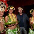 """Exclusif - Sagamore Stévenin - After du film de """"Gauguin, voyage à Tahiti"""" au Buddha-Bar à Paris le 18 septembre 2017. La soirée était organisée par Five Eyes Production © Rachid Bellak/Bestimage"""