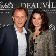 Exclusif - Charles Berling et Pauline Cheviller lors de la soirée au club Kiehl's pendant le 43ème Festival du Cinéma Américain de Deauville le 9 septembre 2017. © Rachid Bellak / Bestimage