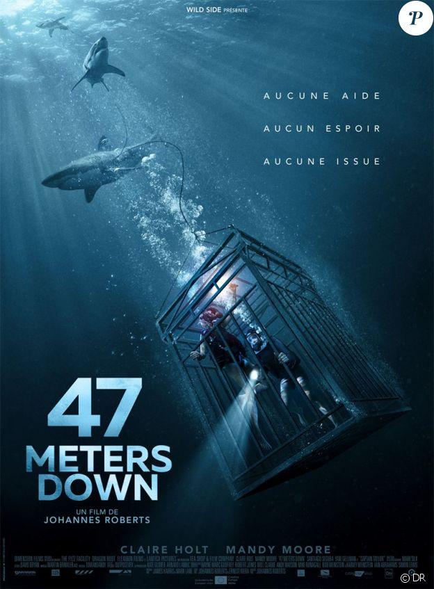 affiche du film 47 Meters Down, en salles le 28 septembre 2017
