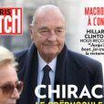 Paris Match, en kiosques le 28 septembre 2017.