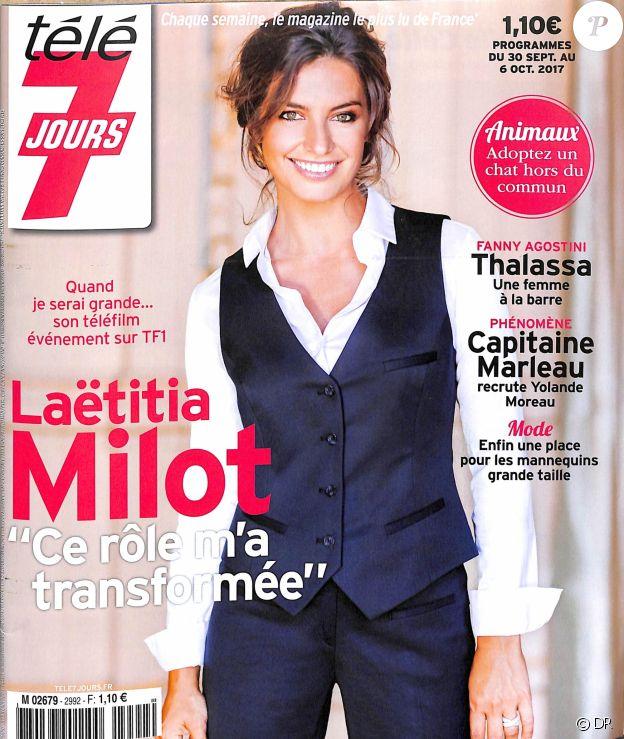 """""""Télé 7 Jours"""", programme du 30 septembre au 6 octobre 2017."""