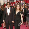 Johnny Depp et Vanessa Paradis en 2008. Le couple, toujours très discret, cultive un look glam-retro irrésistible.